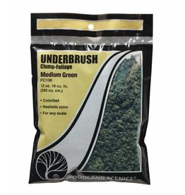 Woodland Scenics Medium Green Underbrush