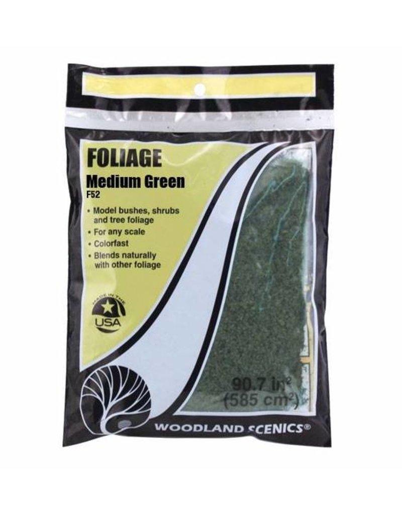 Woodland Scenics Ground Cover: Medium Green Foliage