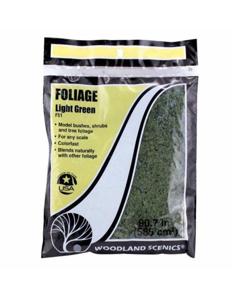 Woodland Scenics Ground Cover: Light Green Foliage