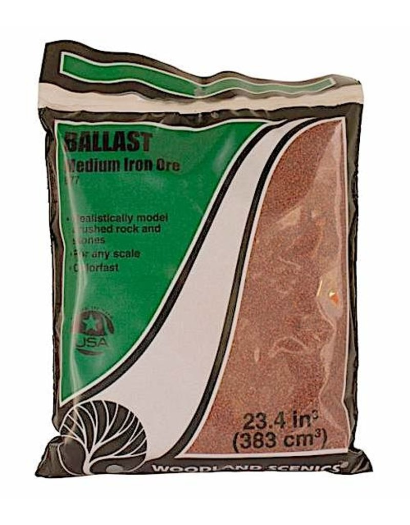 Woodland Scenics Iron Ore Medium Ballast (BAG)
