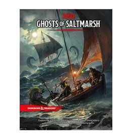 Wizards of the Coast Ghosts of Saltmarsh Campaign Book