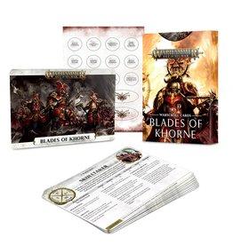 Games Workshop Warscroll Cards: Blades Of Khorne (EN)