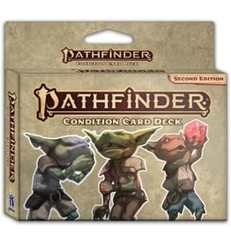 Paizo 2nd Edition Condition Card Deck