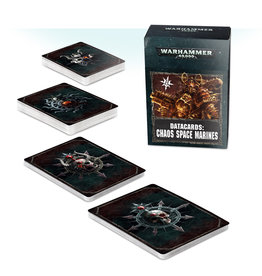 Games Workshop Datacards: Chaos Space Marines (8th Edition) REPRINT (EN)