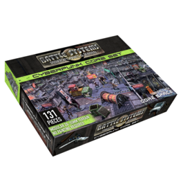 Battle Systems Cyberpunk Terrain Core Set
