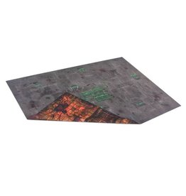 Game Mat 6'x4' Double Sided: Chemzone & Necropolis