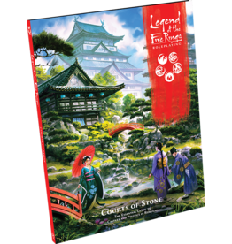 Fantasy Flight Games L5R RPG: Courts of Stone