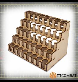 TT COMBAT Paint Rack 40 Vallejo/Warpaint Size