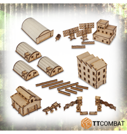 TT COMBAT Rural Military Base Bundle (15mm)