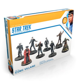Modiphius Entertainment Star Trek Iconic Villains
