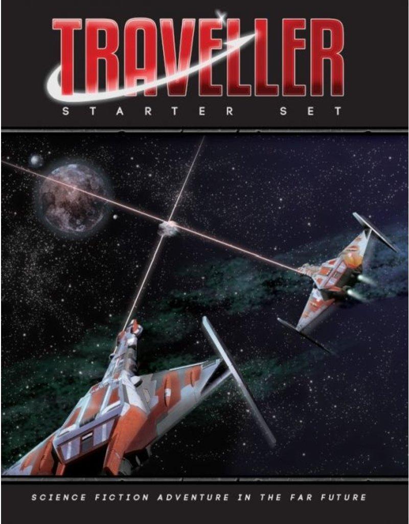 Mongoose Publishing Traveller Sci-fi RPG Starter Set