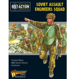 Warlord Games Soviet Assault Engineers Squad