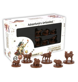 Steamforged Dungeons and Doggies Miniatures Box 2