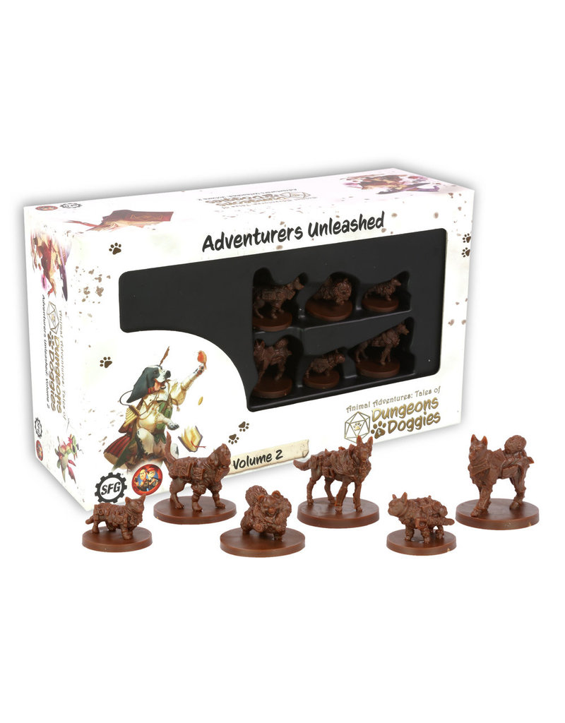 Steamforged D&D: Dungeons and Doggies Miniatures Box #2