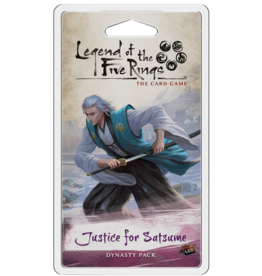 Fantasy Flight Games Justice for Satsume Dynasty Pack