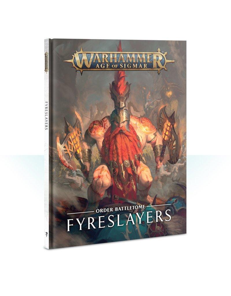 Games Workshop Battletome: Fyreslayers (HB) (ENGLISH)