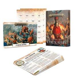 Games Workshop Warscroll Cards: Fyreslayers (EN)