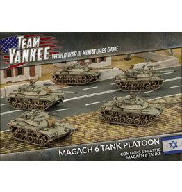 Battlefront Miniatures Oil War – Magach 6 Tank Platoon