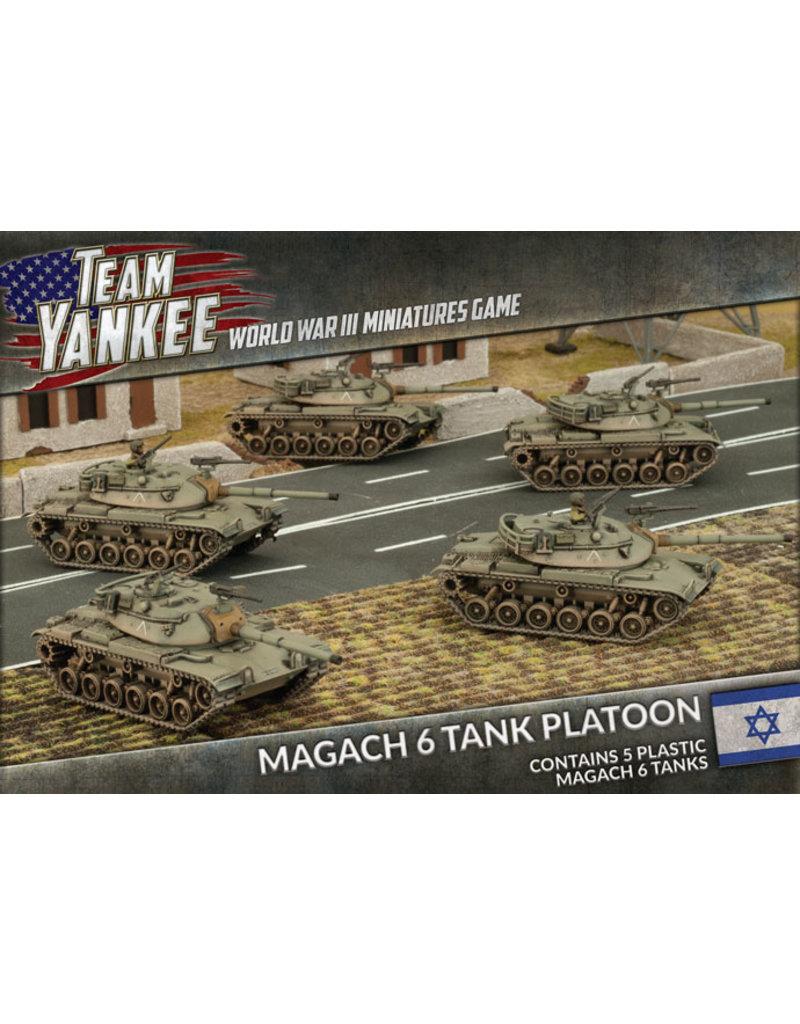 Defenders Of Israel: Magach 6 Tank Platoon