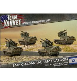 Battlefront Miniatures Oil War – M48 Chaparral SAM Platoon