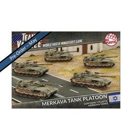 Battlefront Miniatures Oil War – Merkava Tank Platoon