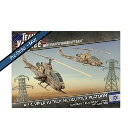 Battlefront Miniatures Oil War – AH-1 Cobra Attack Helicopter Platoon