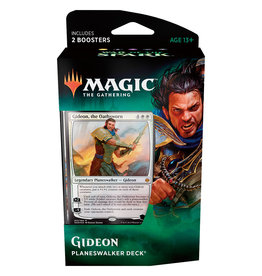 Wizards of the Coast War of the Spark Planeswalker Deck – Gideon