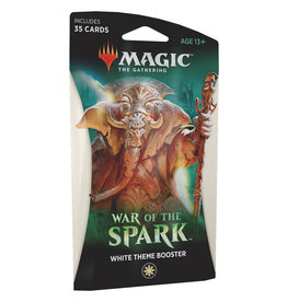 Wizards of the Coast War of the Spark Theme Booster – White
