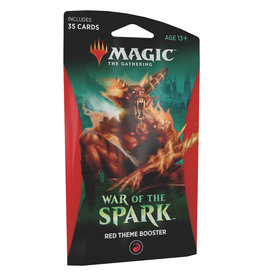 Wizards of the Coast War of the Spark Theme Booster – Red