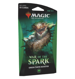 Wizards of the Coast War of the Spark Theme Booster – Green