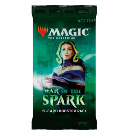 Wizards of the Coast War of the Spark Booster Pack