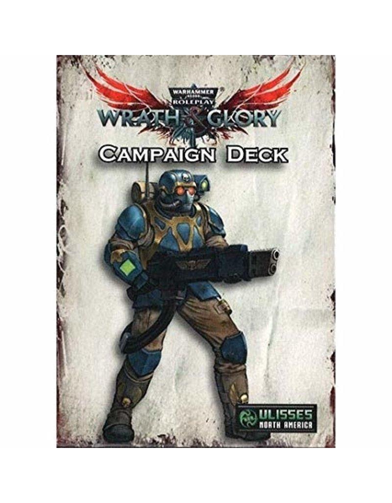 Warhammer 40k: Wrath & Glory Campaign Card Deck