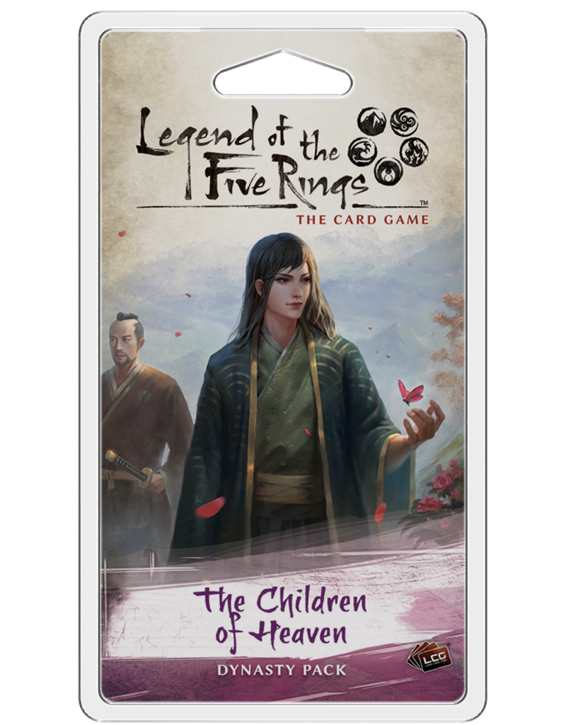 Fantasy Flight Games Legend Of The Five Rings: The Children of Heaven Dynasty Pack