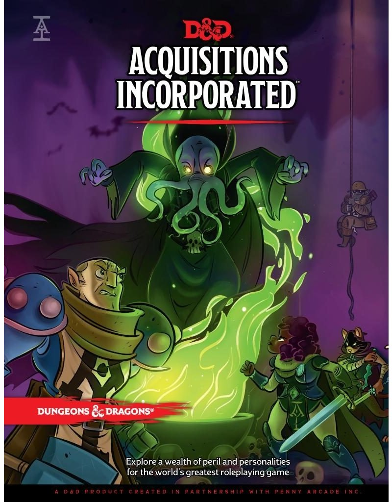 Wizards of the Coast D&D: Acquisitions Incorporated Campaign Book