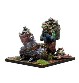 Mantic Games Goblin Support Pack: Mawpup Launcher
