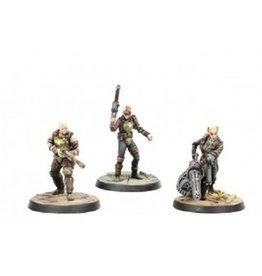 Modiphius Entertainment Wasteland Warfare - Ack Ack, Sinjin & Avery