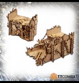 TT COMBAT Sci-fi Gothic: Ruined Orc Walls