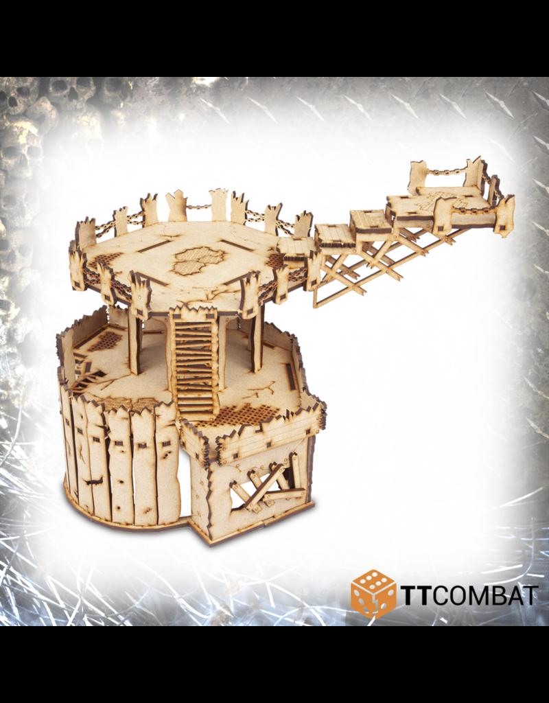 TT COMBAT Sci-fi Gothic: Orc Fortress