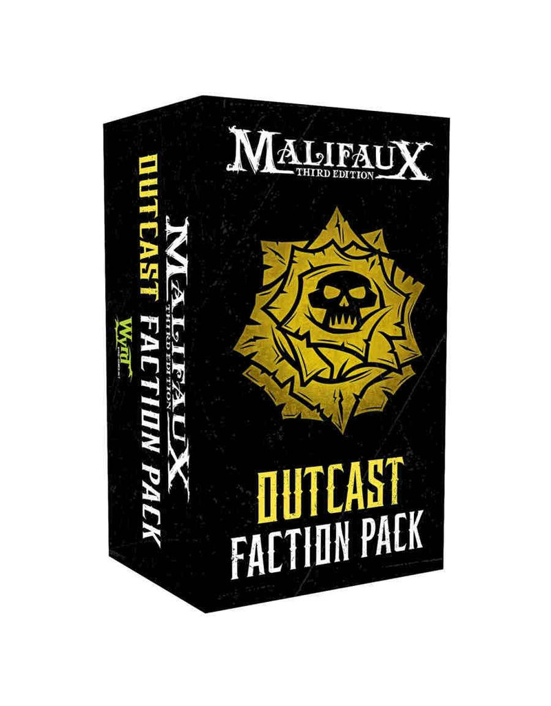 Wyrd Malifaux: Outcast Faction Pack (3rd edition)
