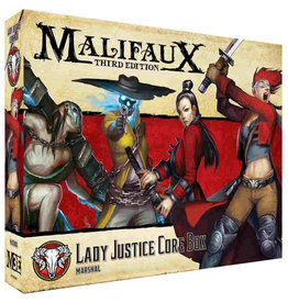 Wyrd Lady Justice Core Box (3rd edition)