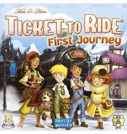 Days of Wonder Ticket To Ride: First Journey (Europe)