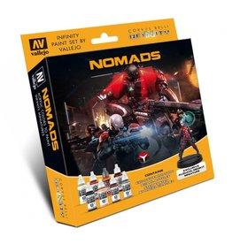 Corvus Belli Nomads Model Color Set + Exclusive Model
