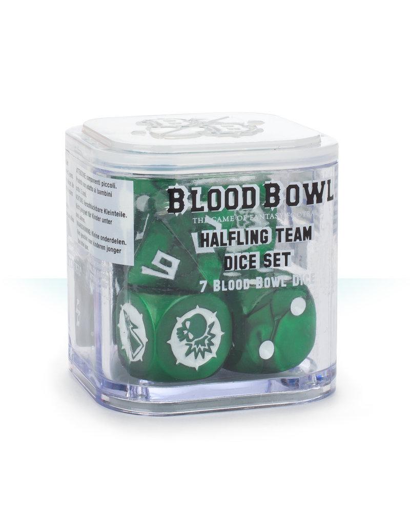 Games Workshop Blood Bowl Halfling Dice Set