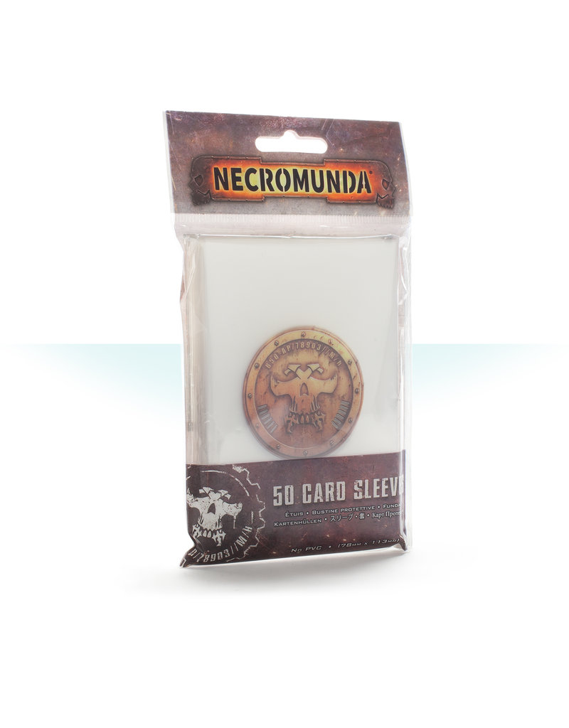 Games Workshop Necromunda Underhive Card Sleeves