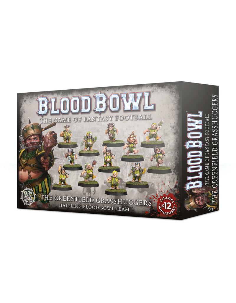 Games Workshop Blood Bowl: Greenfield Grasshuggers Halfling Team