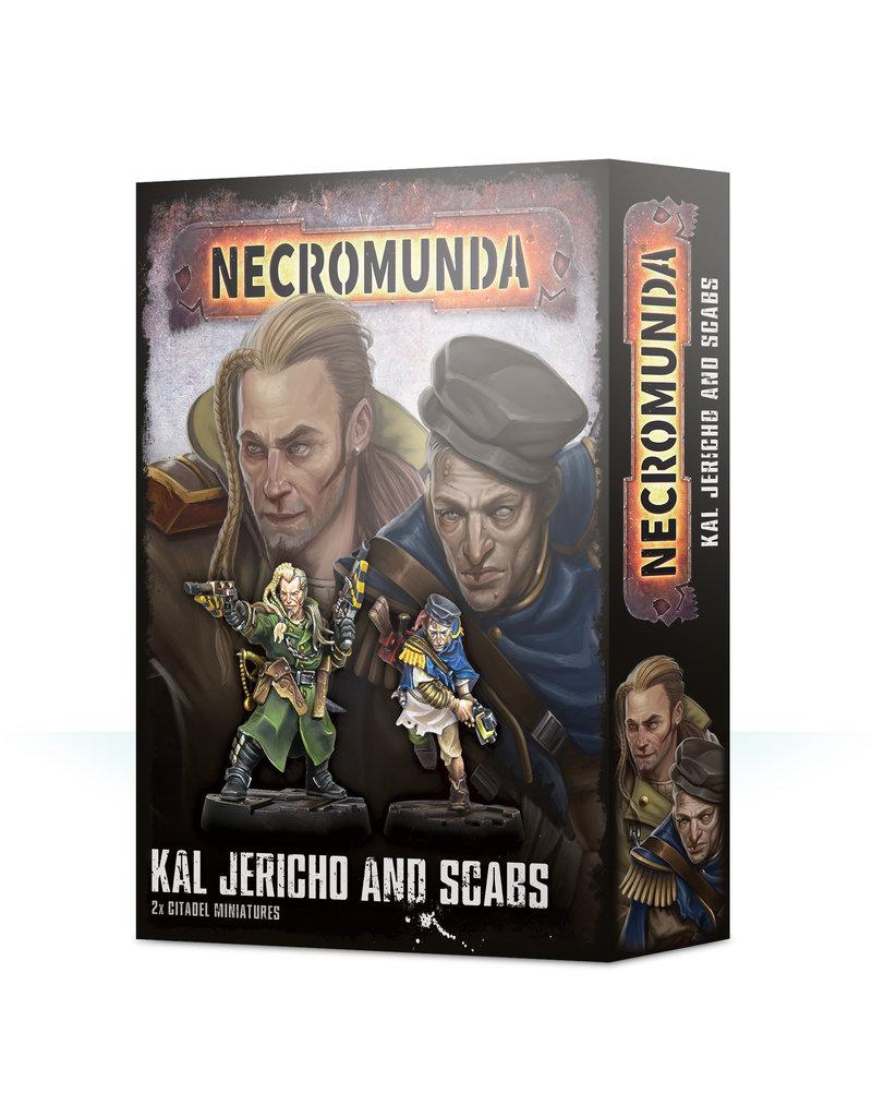 Games Workshop Necromunda Underhive Kal Jericho And Scabs