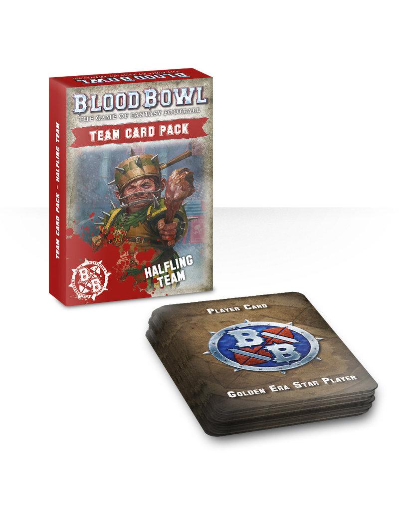 Games Workshop Blood Bowl Halfling Team Card Pack (EN)