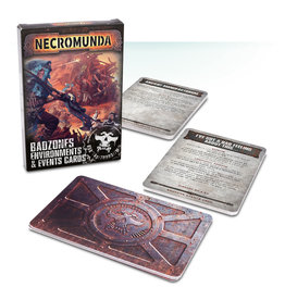 Games Workshop Badzones Environments Event Cards (EN)