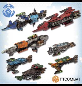 TT COMBAT Dropfleet Resistance Starter Fleet