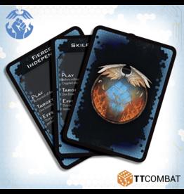 TT COMBAT Dropfleet Resistance Command Cards